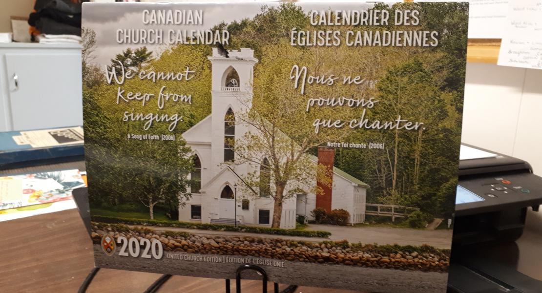 2020 Canadian Church Calendar